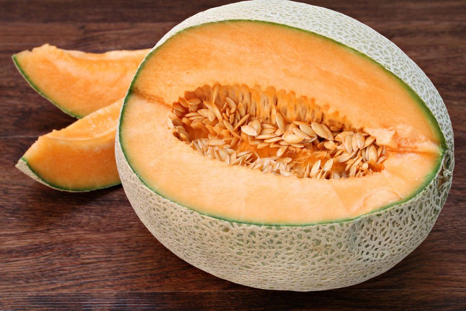 Hales Best Jumbo Melon 100 seeds * sweet * easy grow * Heirloom I17
