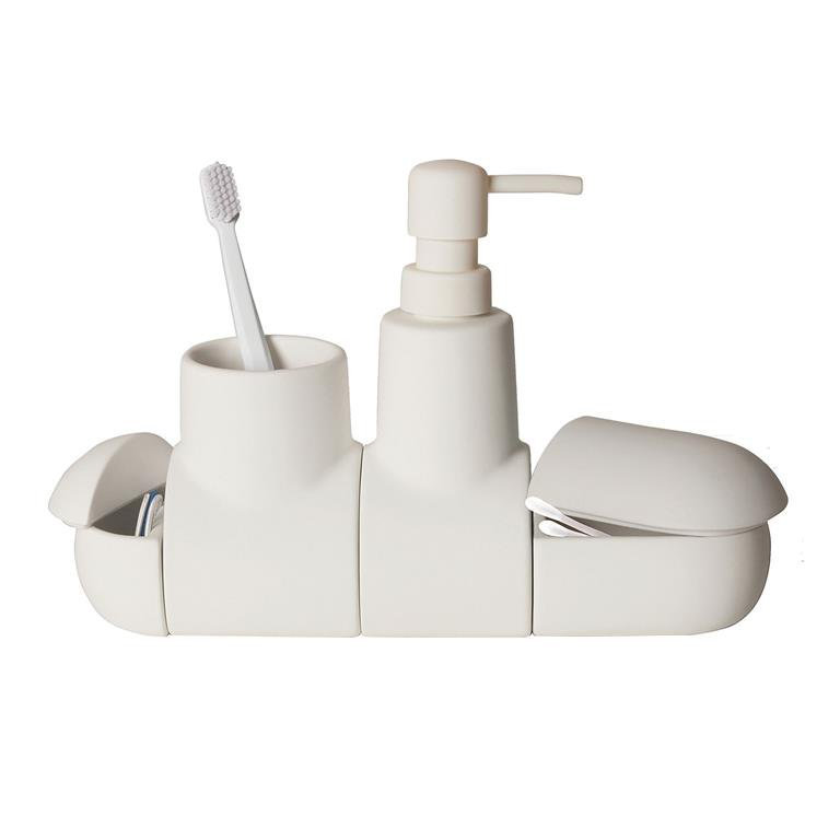 Submarine bathroom accessoires set