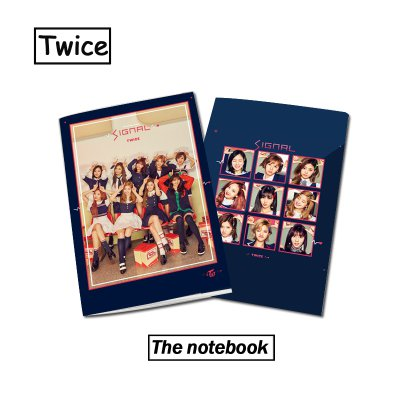 12pcs/lot exo/bts/twice notebook for free shipping