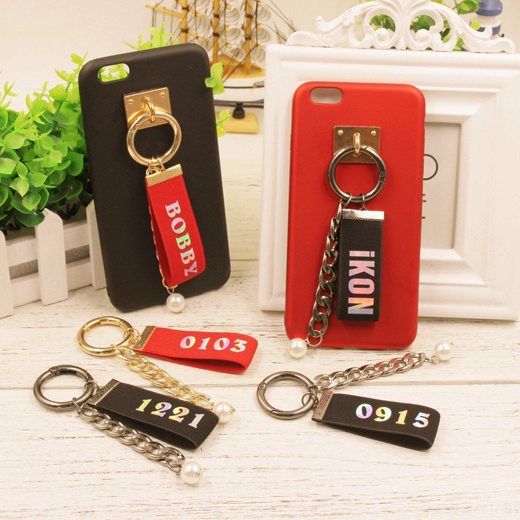 ikon member phone straps 8pcs/lot free shipping