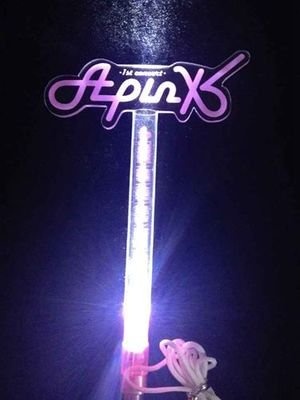 10pcs/lot  free shipping apink  concert led light stick