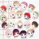 27pcs/lot exo member fridge magnetic sticker  free shipping