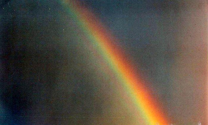 rainbow 2   8 x 10  framed