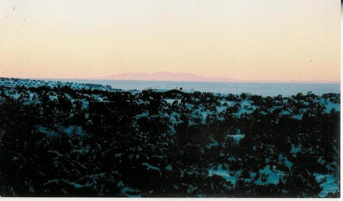 sunset 1  unframed