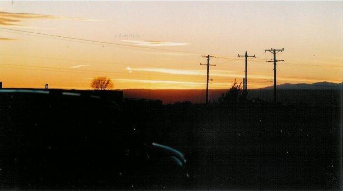 Sunset 4  8 x 10 framed