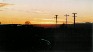Sunset 4 unframed