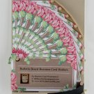 Handmade Bulletin Board Business Card Holders
