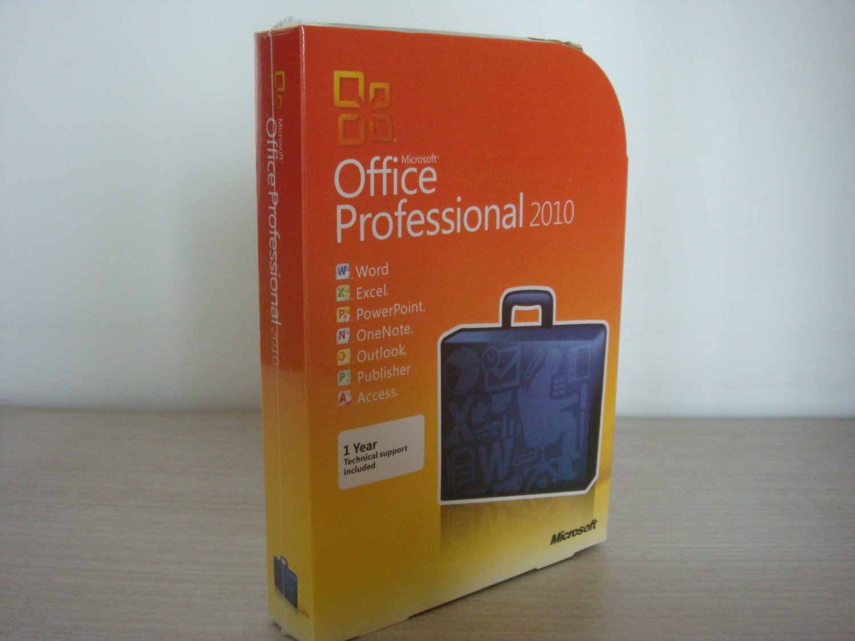Microsoft Office Professional 2010 (Disc Version)