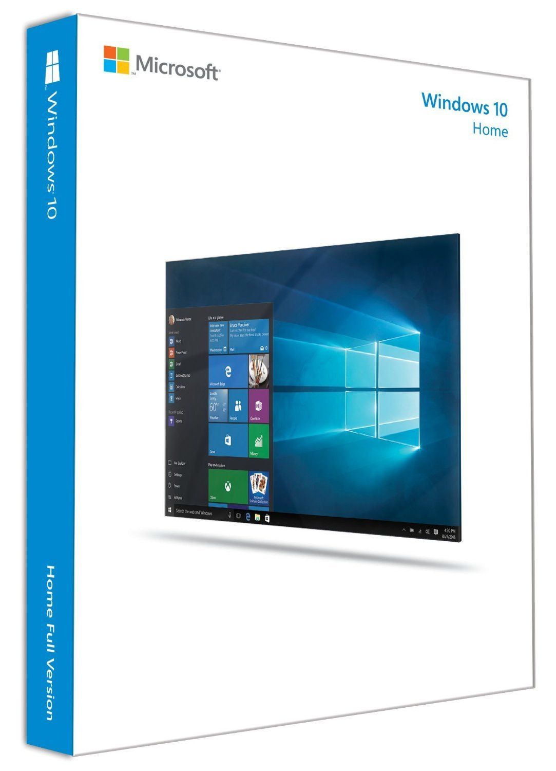 Microsoft Windows 10 Home (Disc Version)