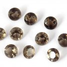 20 Pcs Lot 5mm AAA Smoky Quartz,Round Quartz, Faceted Quartz, Loose Gemstone