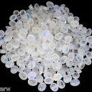 50 Pcs Lot Blue Fire Rainbow Moonstone Oval 7x9mm 100Cts Cabochon Cut Gemstone
