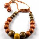 Natural Wood Bracelet,Wood Mala Bracelet,Yoga Meditation Bracelet,Men Bracelet
