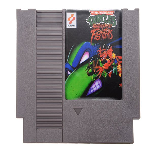 Teenage Mutant Ninja Turtles 4 72 Pin 8 Bit Game Card Cartridge for NES Nintendo