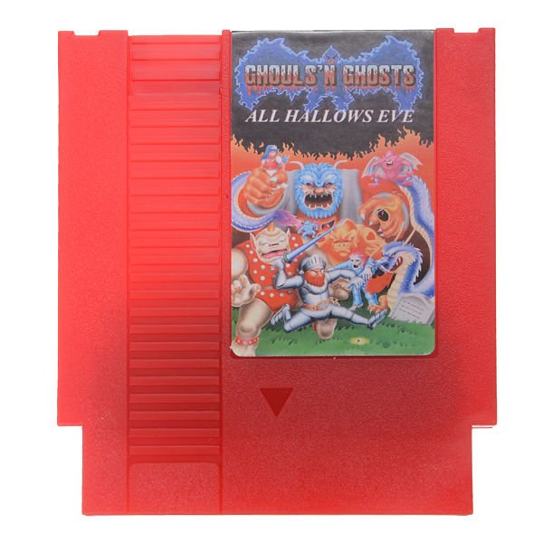 All Hallow's Eve - Ghosts'n Goblins 72 Pin 8 Bit Game Card Cartridge for NES Nin