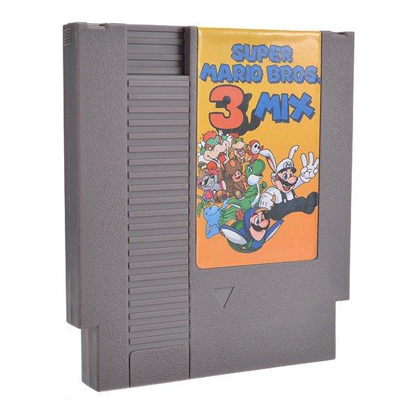 Super Mario Bros. 3 Mix 72 Pin 8 Bit Game Card Cartridge for NES Nintendo