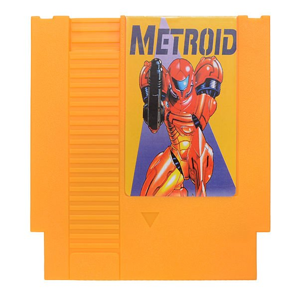 Galactic Warriors Metroid 72 Pin 8 Bit Game Card Cartridge for NES Nintendo
