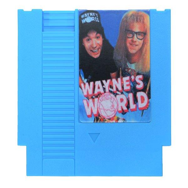 Wayne's World 72 Pin 8 Bit Game Card Cartridge for NES Nintendo