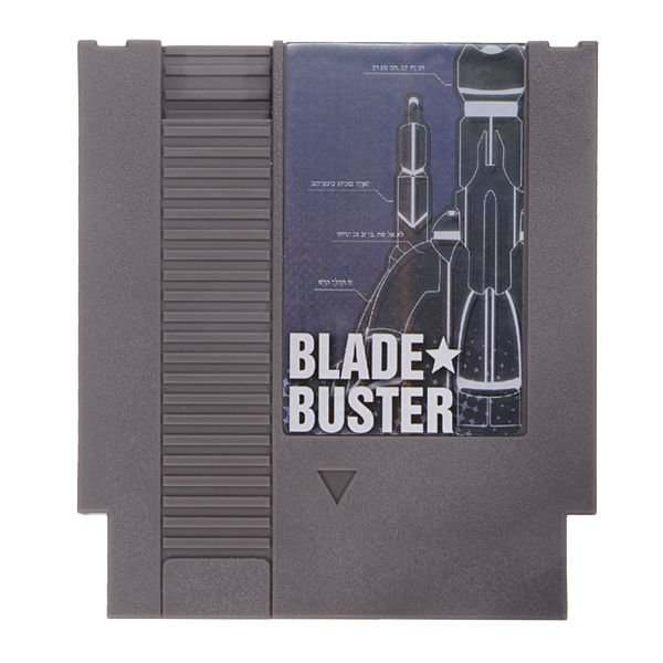 Blade Buster 72 Pin 8 Bit Game Card Cartridge for NES Nintendo