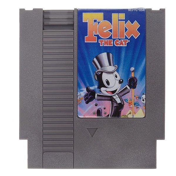 Felix the Cat 72 Pin 8 Bit Game Card Cartridge for NES Nintendo