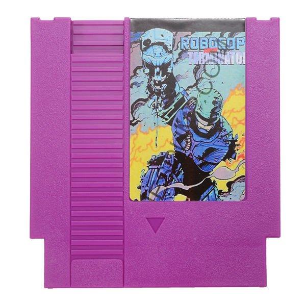 Robocop VS The Terminator 72 Pin 8 Bit Game Card Cartridge for NES Nintendo
