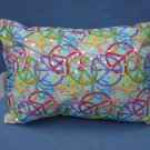 Peace Travel Pillow with Sequins New with Tag