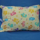 Care Bears Travel Pillow Yellow New with Tag