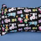 Colorful Dogs Travel Pillow New with Tag
