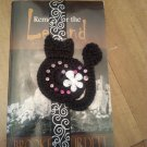 Black Cat Ribbon Bookmark