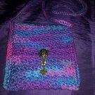 Purple Haze Crossbody Messenger Bag