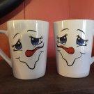 Crafted Ceramic Snowman Mug
