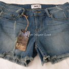 NWT PAIGE Premium Denim cutoff blue jean shorts  29 designer celebrity favorites