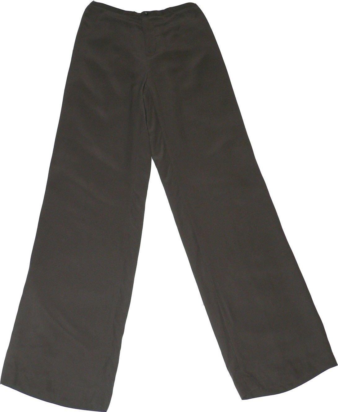 NWT DANA BUCHMAN Silk dress pants slacks trousers XS career designer Cocoa