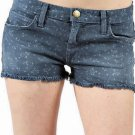 NWT CURRENT/ELLIOTT $168 26 runway blue jean cutoffs boyfriend shorts soft