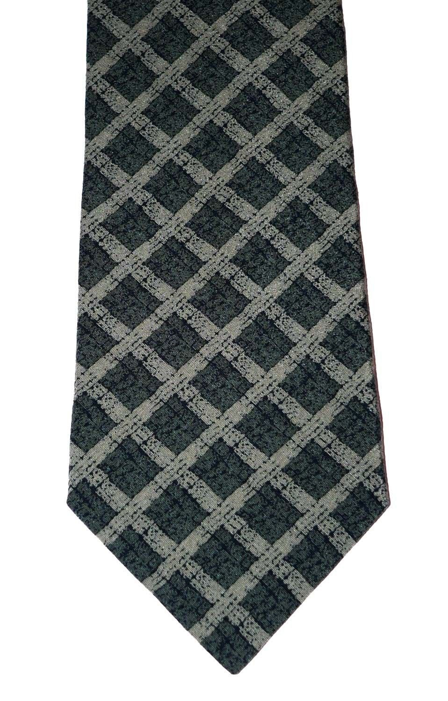 NEW GIORGIO ARMANI Italy silk tie necktie Cravatte luxe green designer authentic