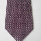 NEW KITON Napoli silk suit tie necktie classic purple 7 fold handmade Italy