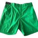 NWT RLX Golf Ralph Lauren shorts 40 flat front poly green $165 fast-dry