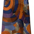 NEW CLAUDE MONTANA Paris silk tie necktie couture luxe abstract 3.75 Italy