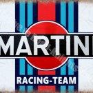 Martini Racing Team, 141 Vintage Garage Advertising Drink, Medium Metal/Tin Sign