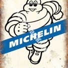 Michelin 171, A Better way Forward, Tyre Man Vintage Car, Small Metal/Tin Sign