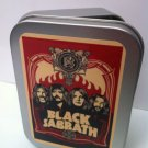 Black Sabbath Classic Rock Music Band Cigarette Tobacco Storage 2oz Hinged Tin