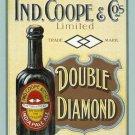 Ind, Coope & co, India Pale Ale, Old Bottled Beer Pub Bar, Medium Metal/Tin Sign
