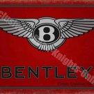 Bentley Motors 186 Vintage Garage Classic Car Advertising, Medium Metal/Tin Sign