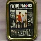The Who Mod Band Music, Scooters Quadrophenia Cigarette Tobacco Storage 2oz Tin