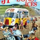 JP & Sons Classic Bedford Ice Cream Van Beach Deck Chairs Small Metal/Tin Sign