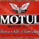 Motul Motor Oil Company 144 Vintage Garage Diesel Old Fuel, Small Metal/Tin Sign