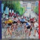 Cycling Tour de France, Cycle Racing Arch Classic Medium Metal/Tin Sign, Picture
