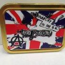 Sex Pistols, Punk Rock Band Music Classic Cigarette Tobacco Storage 2oz Tin