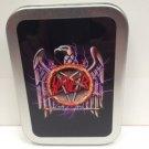 Slayer Thrash Metal Rock Band Music Cigarette Tobacco Storage 2oz Hinged Tin