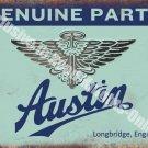Austin Old Classic Car Badge, 111 Vintage Garage, Spares, Medium Metal/Tin Sign