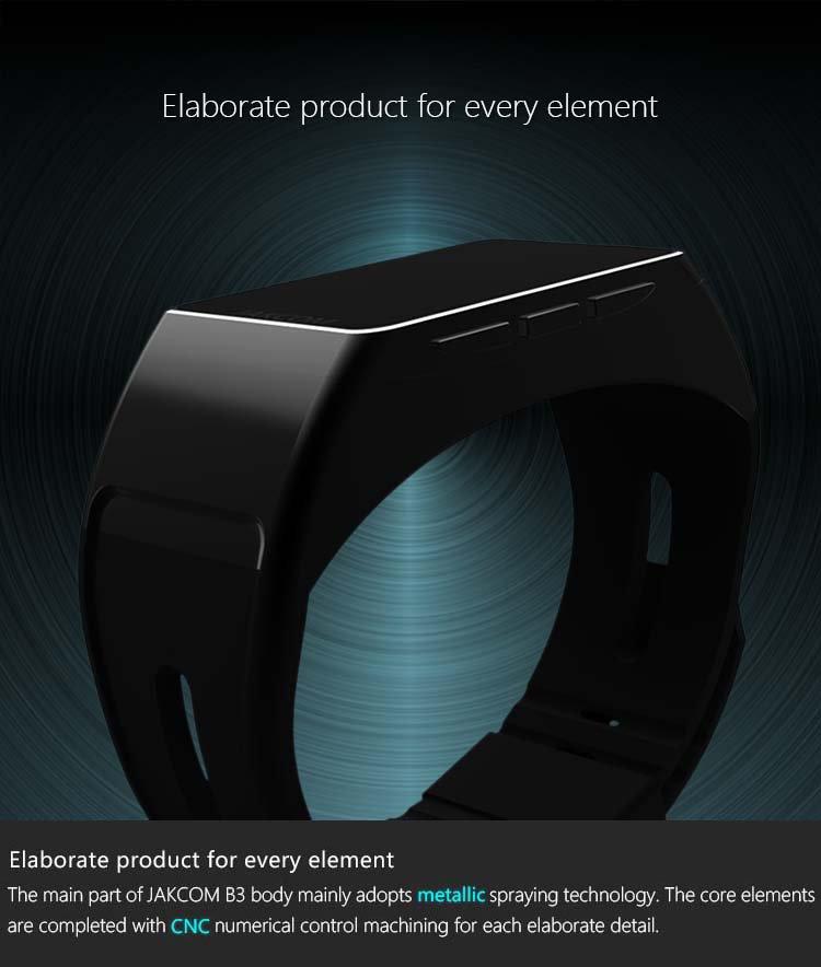 Jakcom B3 Smart Watch 2017 Hot Sale New Product Of Wristwatches